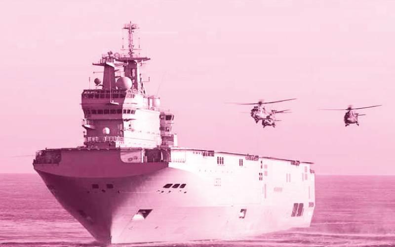 حاملات المروحيات طراز ميسترال