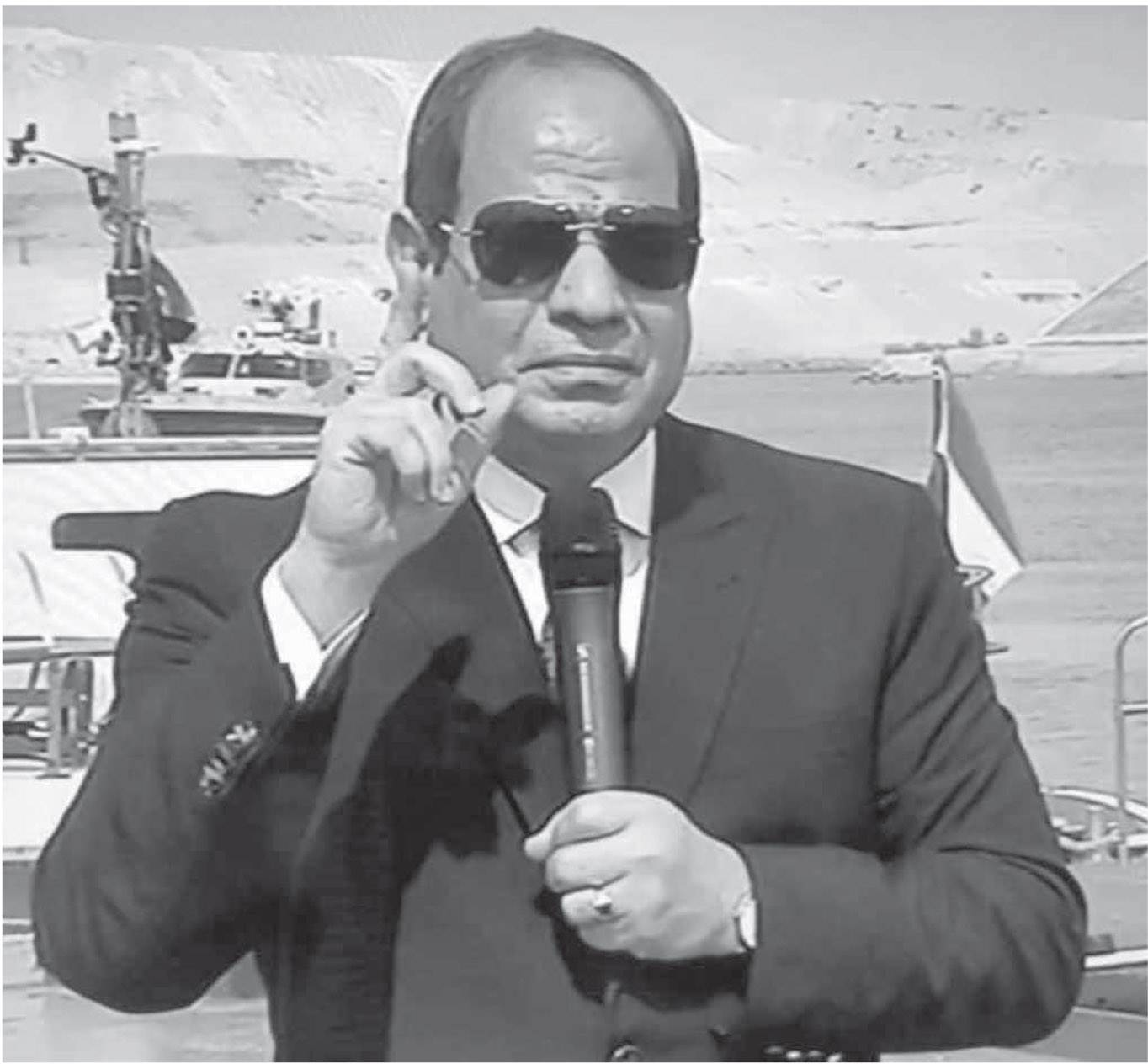 سياسات مصر رشيدة لا تهديد ولا اعتداء على أحد