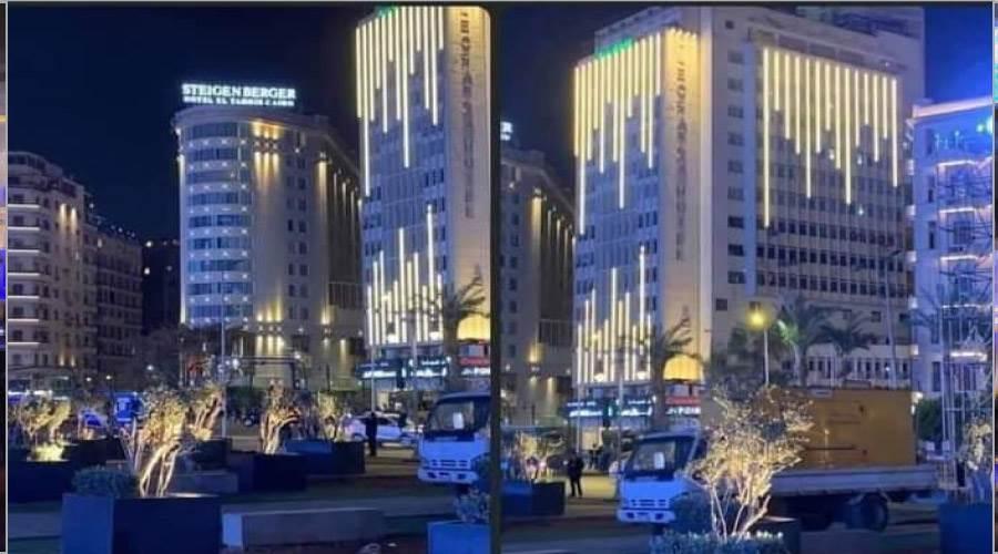 الأضواء والإبهار فى ميدان التحرير