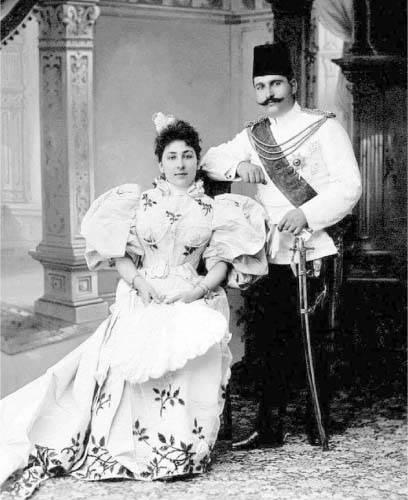 الأمير فؤاد وزوجته شويكار