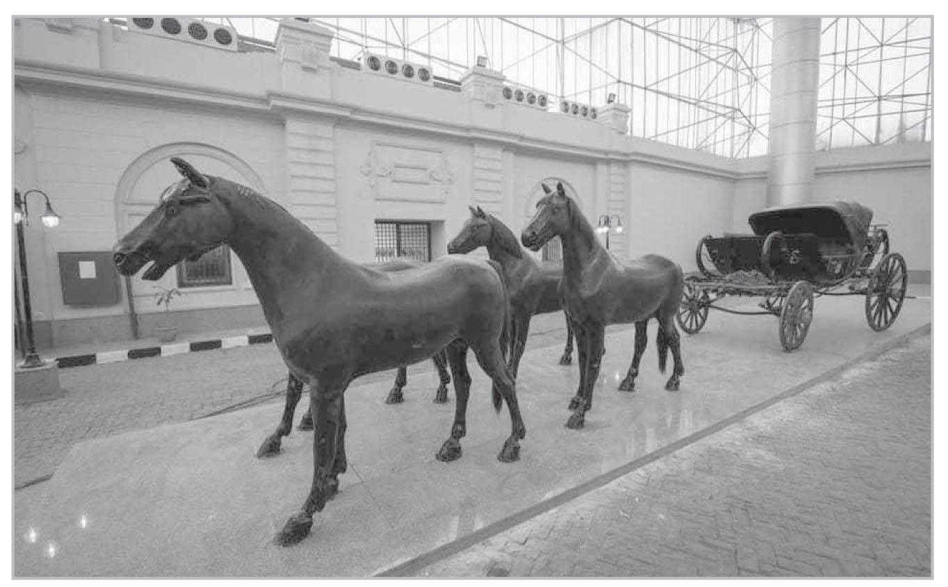 تطوير شامل وإعادة افتتاح متحف المركبات الملكية