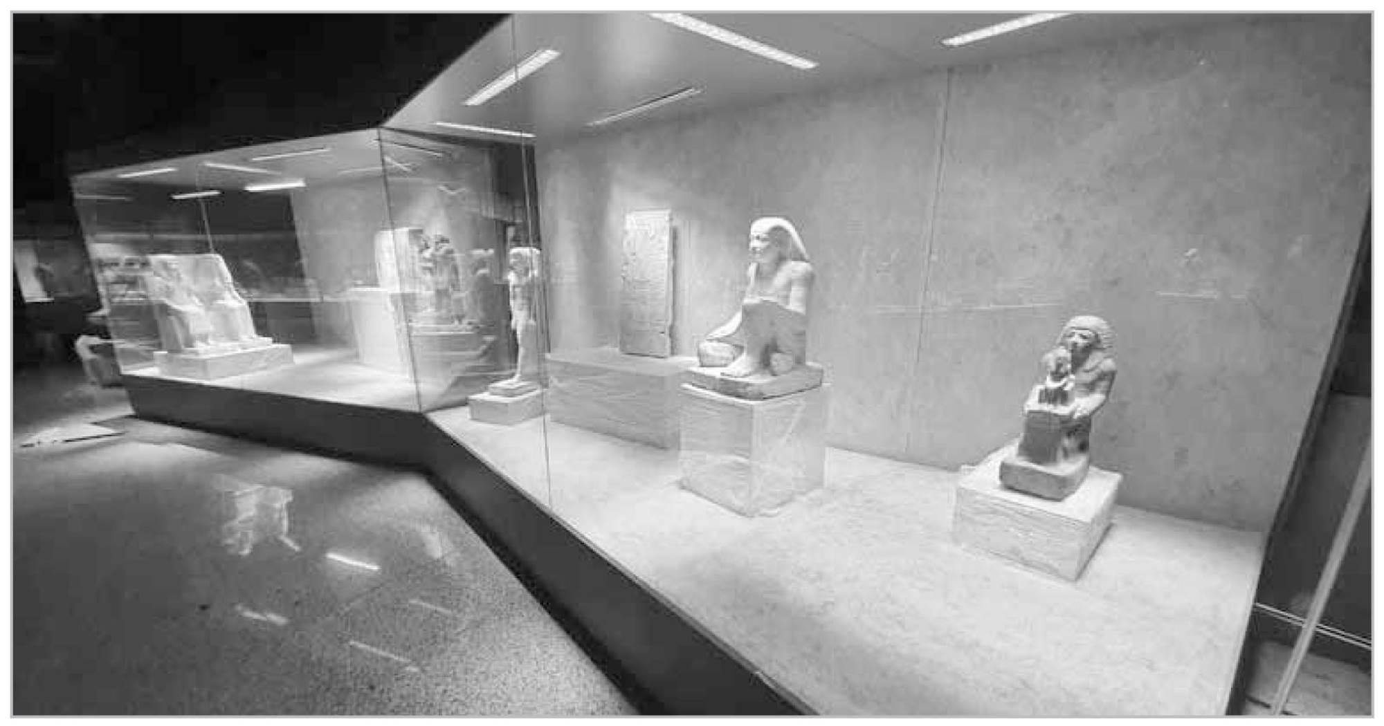 من داخل متحف شرم الشيخ