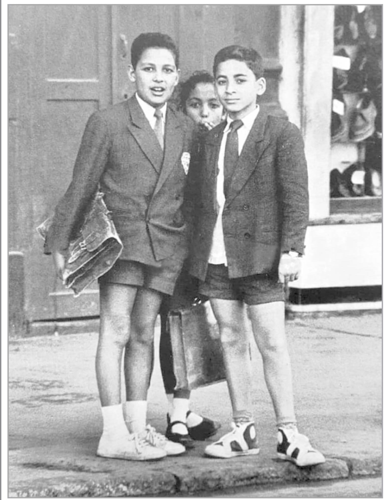 تلاميذ مدرسة إبتدائية فى الأسكندرية فى الستينيات