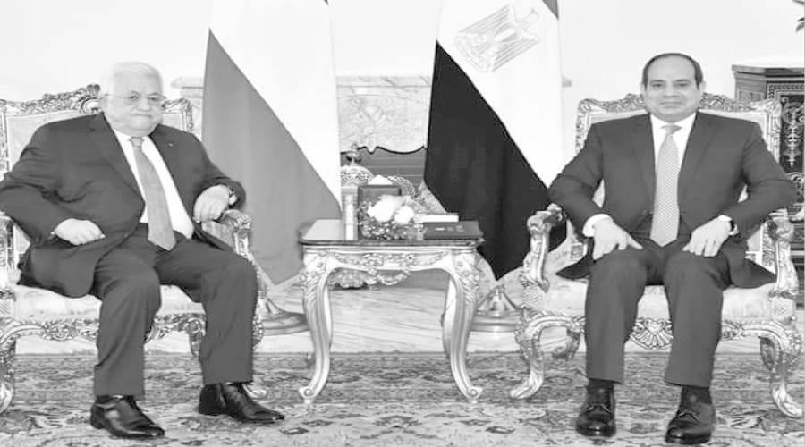 استقبال الرئيس السيسى محمود عباس أبو مازن